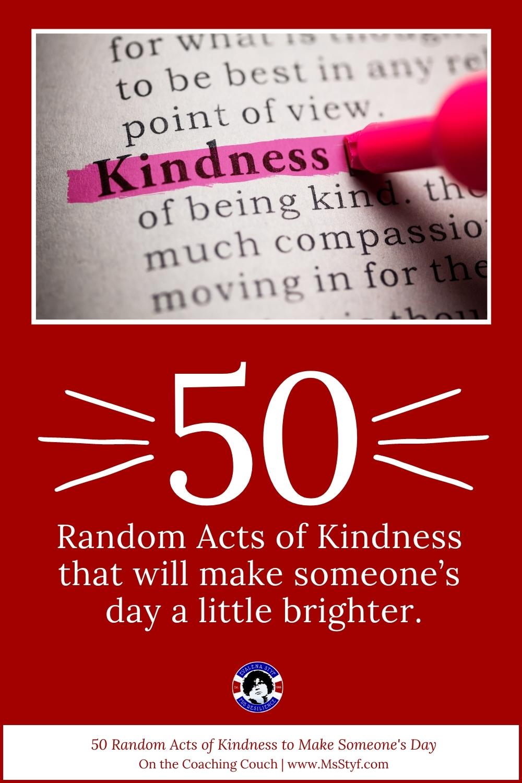 50 random acts of kindness pinterest åin