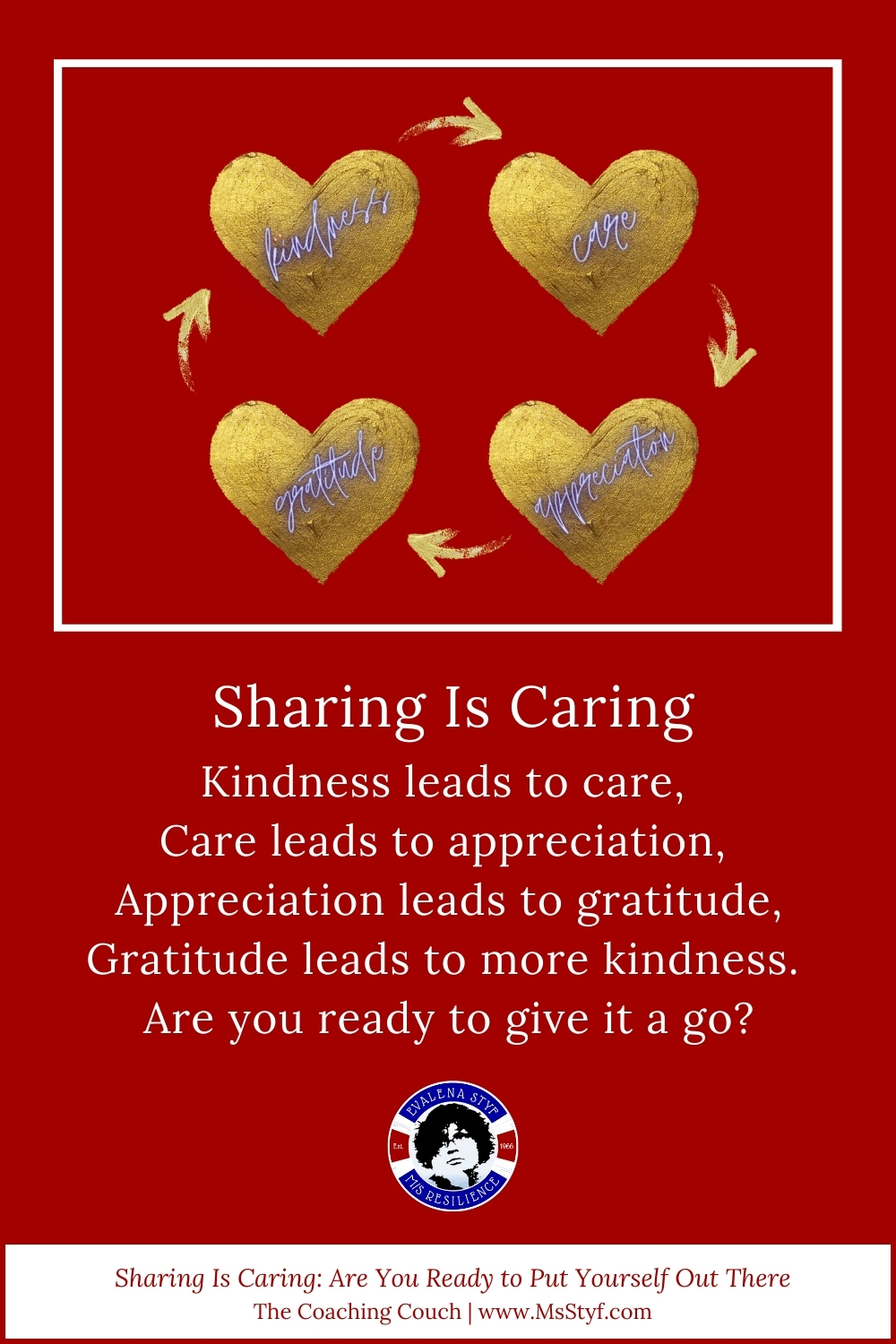 Sharing is caring: Pinterest pin